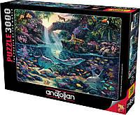 Пазлы Рай джунглей на 3000 элементов
