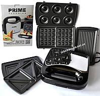 Сендвичница Prime Technics PMM 501 X (5 в 1), фото 1