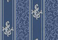 Вінілові шпалери Філіп 1120-6 синій, фото 1