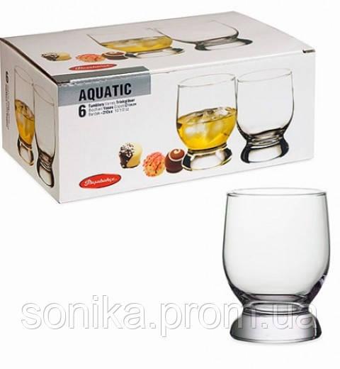 Набір стаканів Pasabahce Aquatic 42975 310мл 6шт