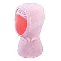 Зимняя шапка-шлем для девочки  TuTu арт. 3-005221 (46-50, 50-54)