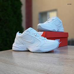 Мужские кроссовки Nike Air Monarch (Белые) 10305