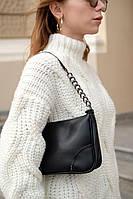 Женская сумка Луна экокожа 27*16*7 см черный