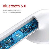 Беспроводные Bluetooth наушники в белом кейсе i11, фото 2