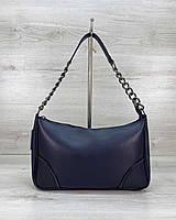 Женская сумка Луна экокожа 27*16*7 см синий