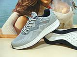 Мужские кроссовки BaaS Running - 3 светло-серые 44 р., фото 2