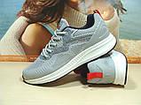 Мужские кроссовки BaaS Running - 3 светло-серые 44 р., фото 4