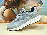 Мужские кроссовки BaaS Running - 3 светло-серые 44 р., фото 5