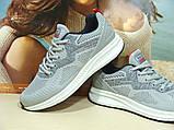 Мужские кроссовки BaaS Running - 3 светло-серые 44 р., фото 6