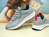 Мужские кроссовки BaaS Running - 3 светло-серые 44 р., фото 7