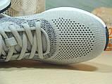 Мужские кроссовки BaaS Running - 3 светло-серые 44 р., фото 8