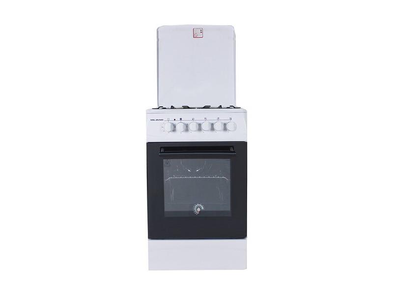 Плита газо-электрическая комбинированная Milano ML50E10 белая 508607