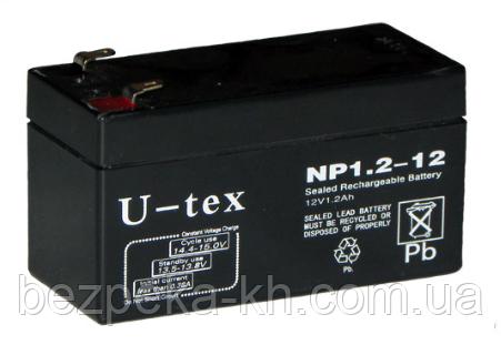 Аккумуляторная батарея U-tex NP1.2-12