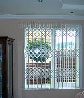 Решетки раздвижные на окна Шир.1800*Выс1750мм