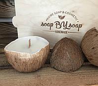 Соевая свеча Кокосик, фото 1