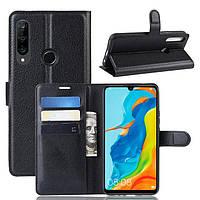 Чехол-книжка Litchie Wallet для Huawei P30 Lite / Nova 4e Black