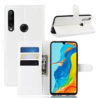 Чехол-книжка Litchie Wallet для Huawei P30 Lite / Nova 4e White
