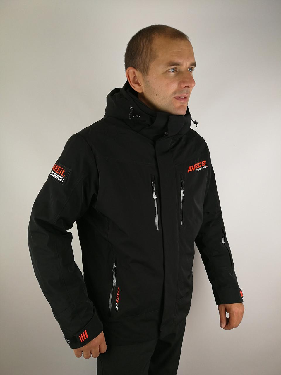 Чоловіча лижна куртка зима 2021