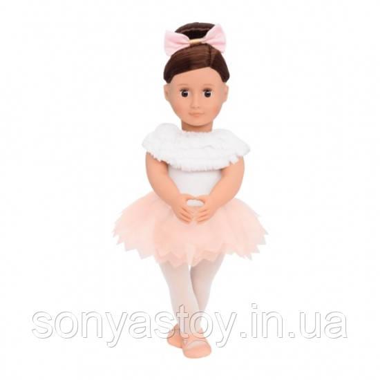 Виниловая кукла Балерина Валенсия (46 см) с одеждой (7 шт), Our Generation