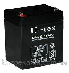 Аккумуляторная батарея U-tex NP4.5 - 12