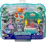 Enchantimals Warmin´ Up Cocoa Stand With Hawna Husky новинка Магазинчик с вафлями Хаски Хавны, фото 8