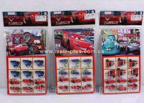 Детский Набор магнитов Тачки ZK 20102-3-4-5