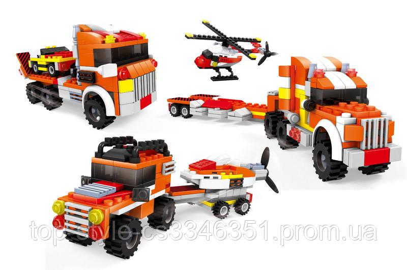 Детский конструктор AUSINI 25624 грузовики