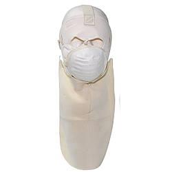 """Американская маска на лицо для экстремально холодной погоды """"Cold Weather"""" белая"""