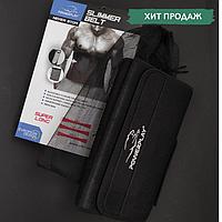 Пояс-сауна для похудения POWERPLAY Для коррекции фигуры термопояс Черный (PP_пояс 125), фото 1