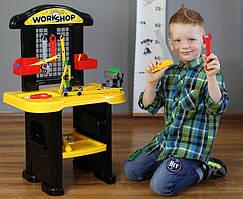 """Игровой набор для мальчика """"Мастерская"""" со столиком, 9 инструментов и 61 аксессуар, 5064TXK"""