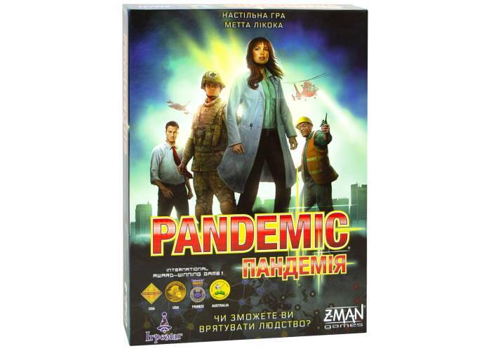 Настольная игра Пандемія