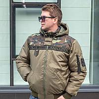 Мужские куртки зимние от производителя 46-58 хаки