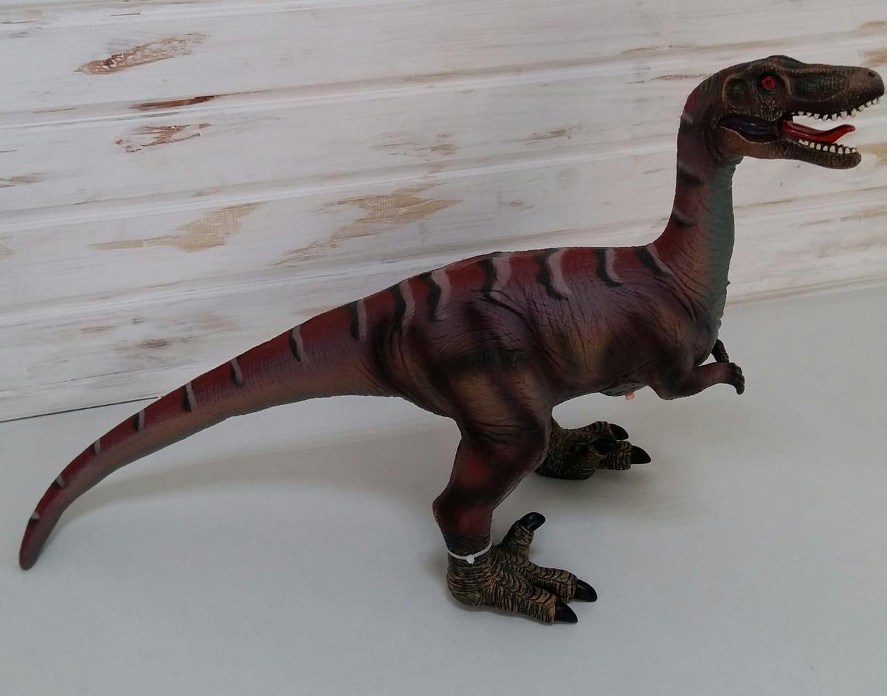 Детский резиновый динозавр со звуком Q9899-512