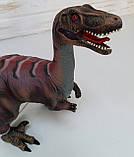 Детский резиновый динозавр со звуком Q9899-512, фото 2
