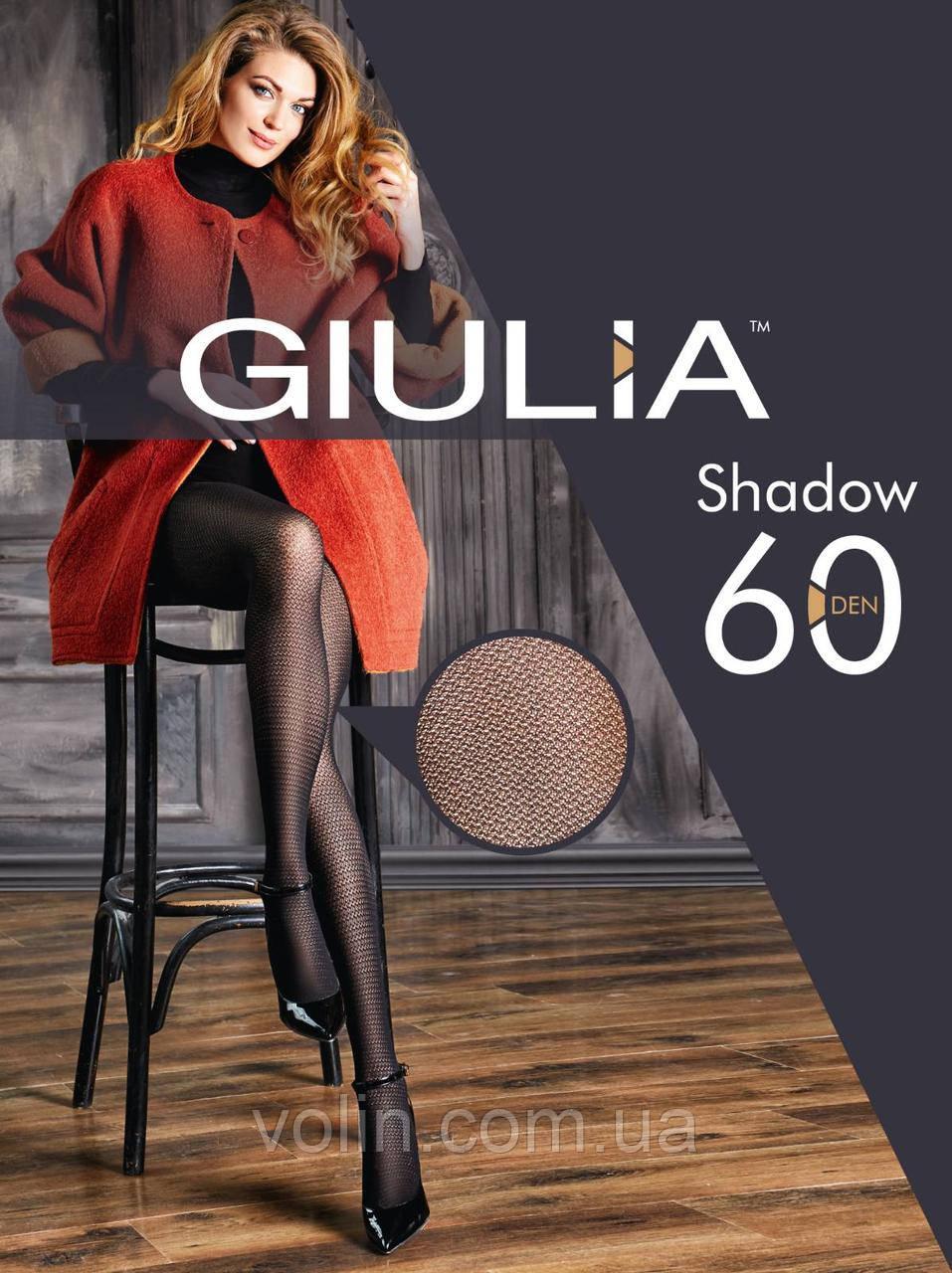 Колготки женские фантазийные Giulia Shadow 60 model 10