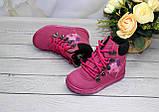 Зимние ботиночки для девочек- на овчинке, фото 2