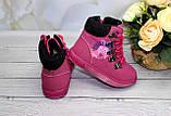 Зимние ботиночки для девочек- на овчинке, фото 3