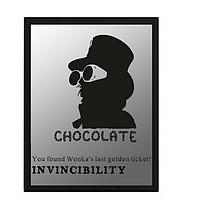 """Наклейка """"Чарлі та шоколадна фабрика"""""""