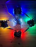 Гирлянда уличная НИТЬ RGB разноцветная, фото 2