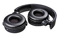 Jeferson X-16 Bluetooth Headphone бездротові навушники Black Headphones