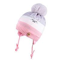 Зимняя шапка для девочки TuTu арт. 3-005128( 48-52), фото 1