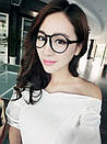 Вінтажні окуляри для іміджу з прозорою лінзою очки для имиджа с прозрачной линзой, фото 2