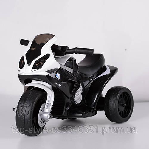 Детский электрический трехколесный мотоцикл BMW S1000 RR JT5188L-2 Белый
