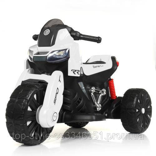 Мотоцикл Bambi M 4193EL-1 Белый