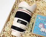 """Подарочный набор  """"Мечты фотографа сбываются"""": кружка-объектив и печенье с предсказаниями """"Магическое"""", фото 6"""