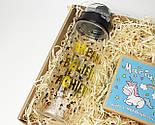 """Подарочный набор """"Магия твоих желаний"""": печенье с предсказаниями """"Магическое"""" и спортивная пластиковая бутылка, фото 6"""