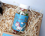 """Подарунок """"Мрії збуваються"""": печиво з передбаченнями """"Магічне"""", чарівні цукерки, спортивна пляшка, фото 10"""