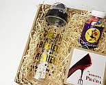 """Подарок """"Женские мечты"""": печенье с предсказаниями """"Женская правда"""", конфетки для красоты, спортивная бутылка, фото 3"""
