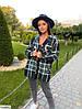 Женская рубашка стильная.  Размер: 42-44, 46-48. Ткань покрытие шерсти., фото 7