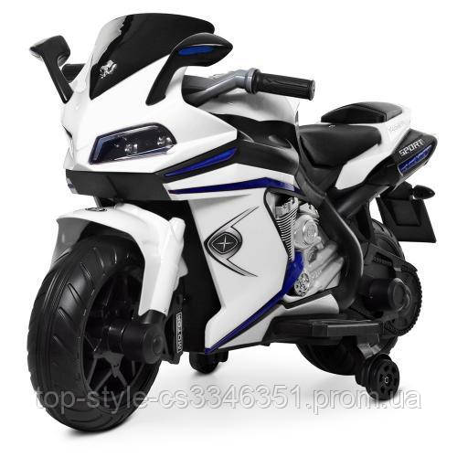 Мотоцикл Bambi M 4202EL-1 Белый